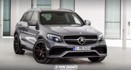 "Cum va arăta ""bomba"" Mercedes-Benz GLC 63 AMG"