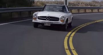 Petrolicious recunoaște frumusețea unui Mercedes-Benz SL 280
