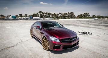 Doar un Mercedes-Benz CLS poate sa arate așa!