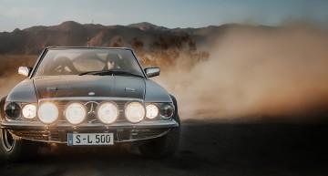 Regele deșertului: Mercedes-Benz 500 SL