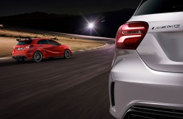 Mercedes-AMG A 45 4MATIC – Mașina care sparge tiparele. Fotografii noi