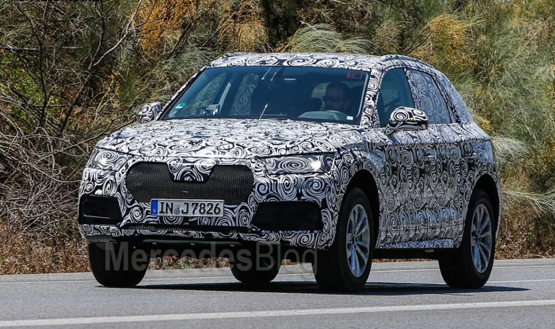 Audi Q5 nu-I lasă loc să respire noului GLC