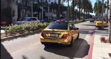 Aurul din parcare: Mercedes C63 AMG