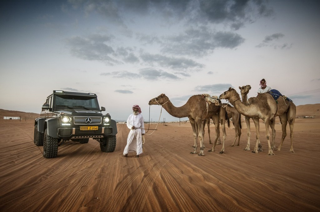Furtună în deșert: Mercedes G63 AMG 6×6