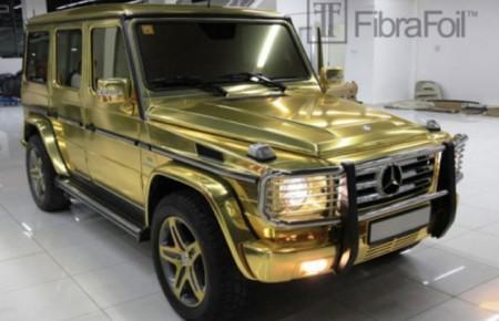 Gold G-Class