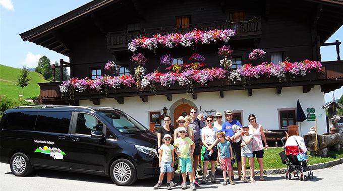 Cu familia în vacanță într-un Mercedes-Benz V-Class