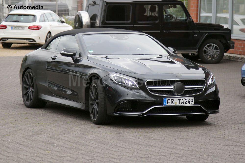 Mercedes-AMG S 63 Cabrio dezvăluit înainte de vreme