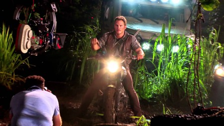 Motorcycle Chris Pratt Jurassic World