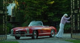 Comoara de automobile clasice Mercedes-Benz de la ferma mexicană