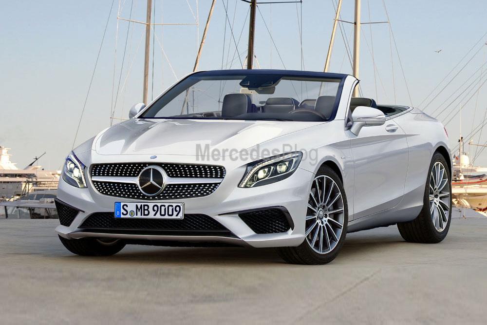 Noul Mercedes-Benz S-Class Cabrio dezvăluit