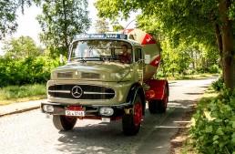Betoniera Mercedes din 1924 – Un camion beton!