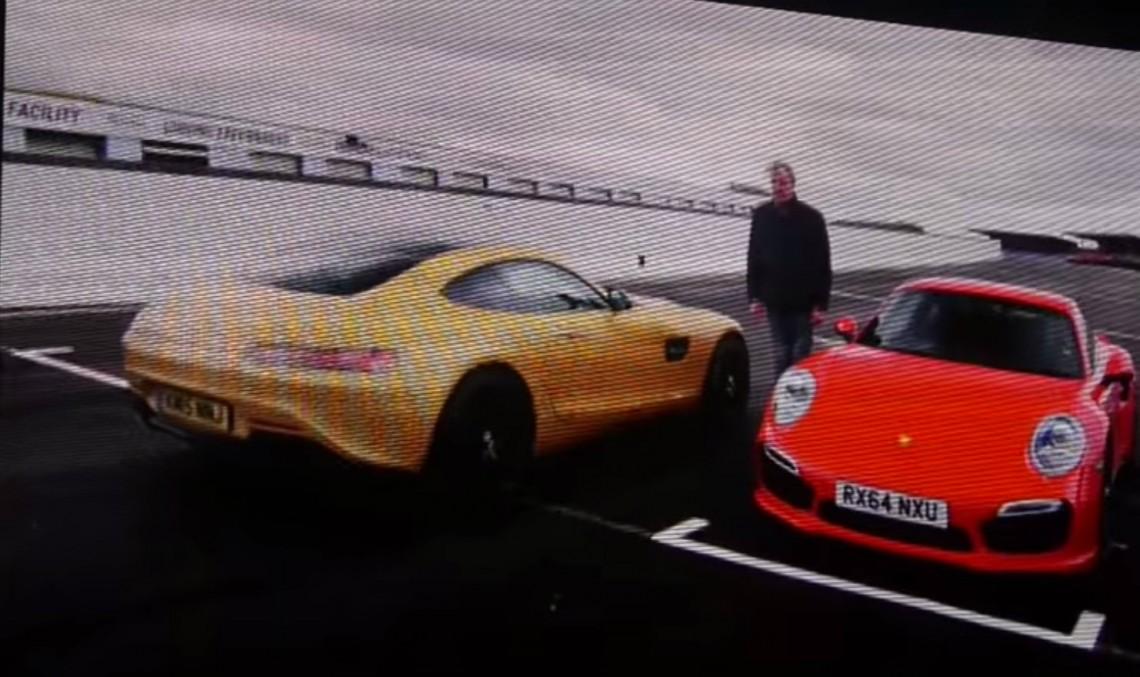 Echipa Clarkson se întoarce cu duelul Mercedes AMG GT – 911 – Z01