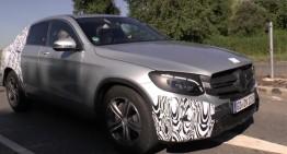Mercedes-Benz GLC Coupe dezvăluit în versiunea de serie (video)