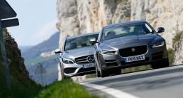 Fețe noi în clasa medie: Jaguar XE versus C-Class