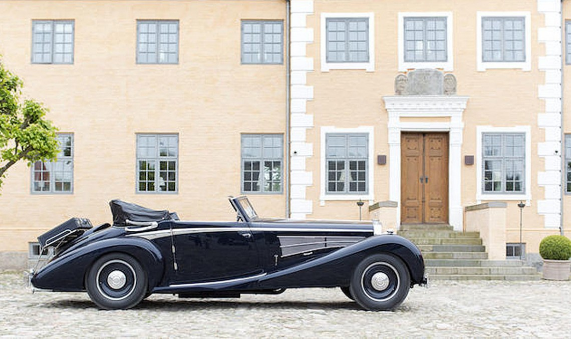 Maybach DS8 Zeppelin Roadster din 1933 de vânzare