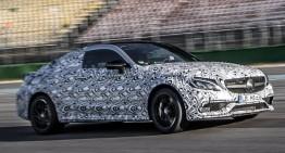 Mercedes-AMG C 63 Coupe promovat în noi fotografii oficiale