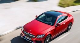 Primul trailer cu Mercedes-Benz C-Class Coupe