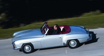 Legendarul Mercedes-Benz 190 SL acum bun pentru Mille Miglia