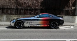 Strania poveste a unui Mercedes SLR