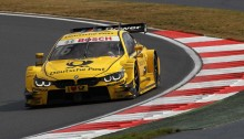 Moscow (RU) 29th August 2015. BMW Motorsport, Timo Glock (DE) DEUTSCHE POST BMW M4 DTM. This image is copyright free for editorial use © BMW AG (08/2015).
