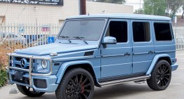 G-Class cameleon – Kylie Jenner schimbă culoarea mașinii în fiecare anotimp