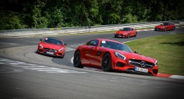 AMG Driving Academy – Au dat foc la circuit!