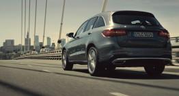 Mercedes-Benz GLC în orașul contrastelor