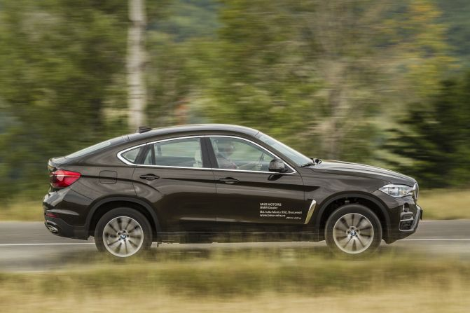 Mercedes GLE Coupe vs BMW X6 1 (35)