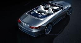 Oficial: prima schiță a noului Mercedes S-Class Cabrio