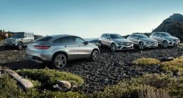 Marea familie fericită a SUV-urilor Mercedes-Benz