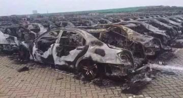 Limuzine S-Class tunate de Brabus distruse în exploziile de la Tianjin