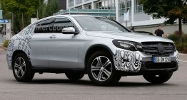 Încă un video cu Mercedes GLC Coupe ajunge pe internet