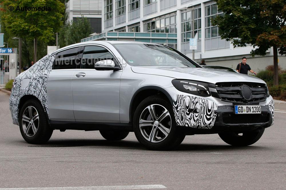 Vă dezvăluim noul Mercedes-Benz GLC Coupe (spionaj)