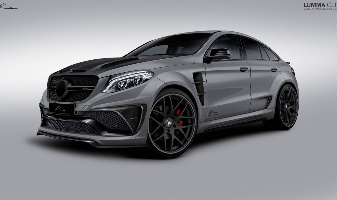 LUMMA CLR G 800 – Mercedes GLE Coupe devine un veritabil prădător