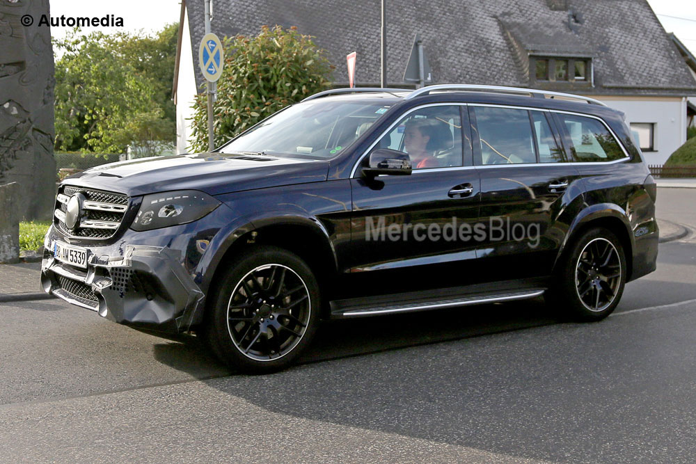 Vedeți Mercedes-Benz GLS 2017 în mișcare