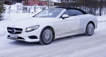 Noutăți Mercedes la Salonul Auto de la Frankfurt: S-Class Cabrio și C-Class Coupe