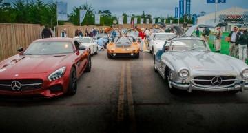 Mercedes-Benz strălucește la Pebble Beach 2015. TUR FOTO LIVE