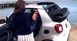 Noul smart fortwo Cabrio dezvăluit în primul clip promoțional
