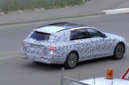 Noul E-Class T-Modell 2016 filmat în premieră
