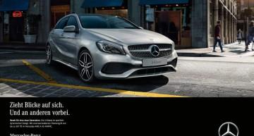 ConfigureACTION – Noua campanie pentru Mercedes-Benz A-Class