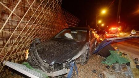 Accident Mercedes