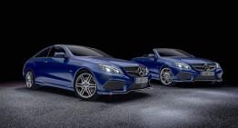 Ediții speciale pentru modele speciale: E-Class Coupe și Cabrio