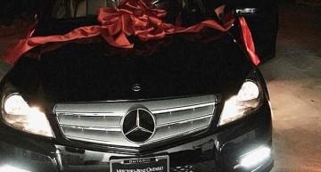 Kylie Jenner i-a dat un Mercedes celei mai bune prietene