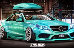 Tuning virtual – Mercedes-Benz E-Class Coupe by X-Tomi Design