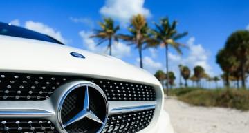 Florida într-un Mercedes-Benz CLA