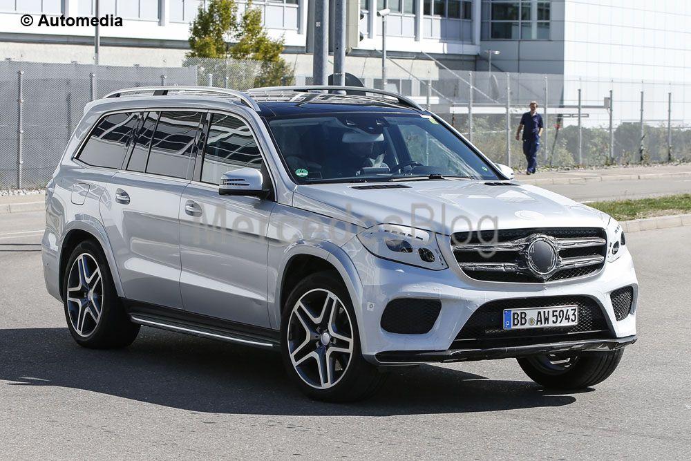 Mercedes-Benz GLS 2017 dezvăluit. Noi fotografii spion
