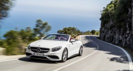 Prețul noului Mercedes S-Class Cabriolet pornește de la 139.051 euro