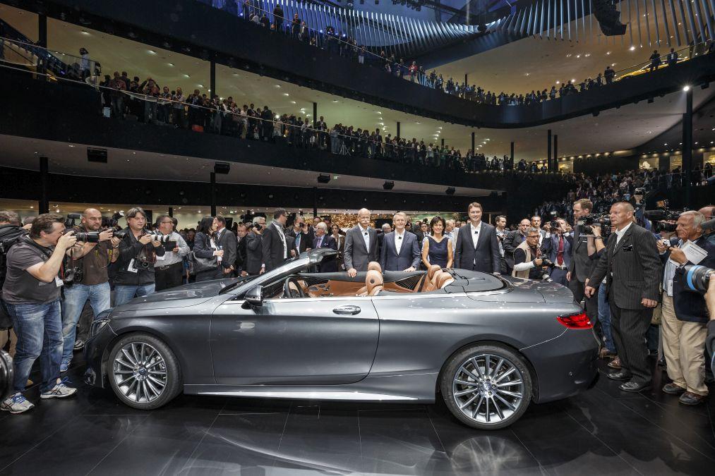 Cinci premiere mondiale Mercedes la Salonul Auto de la Frankfurt 2015