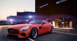 Lumea toată părea o portocală… Mercedes-AMG GT S portocaliu făcut de GWA
