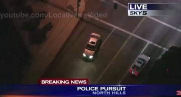 Urmărire ca în filme: un Mercedes furat urmărit de poliție ore întregi